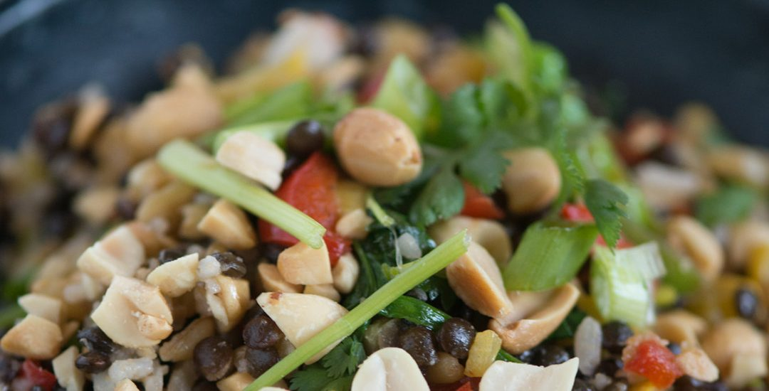 Mediterranean Grain Medley with Peanuts