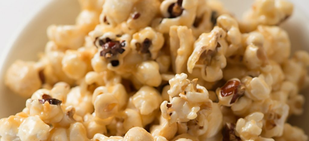 Peanut Caramel Popcorn