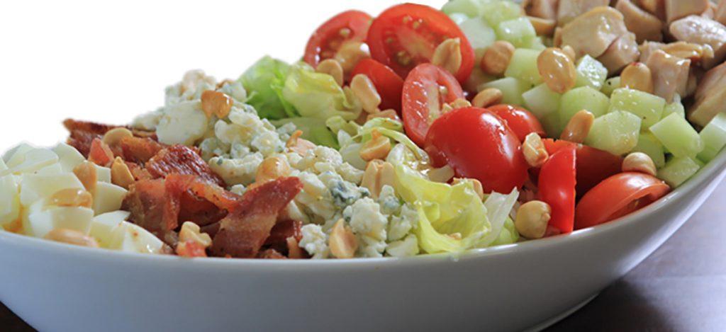 Peanut Cobb Salad