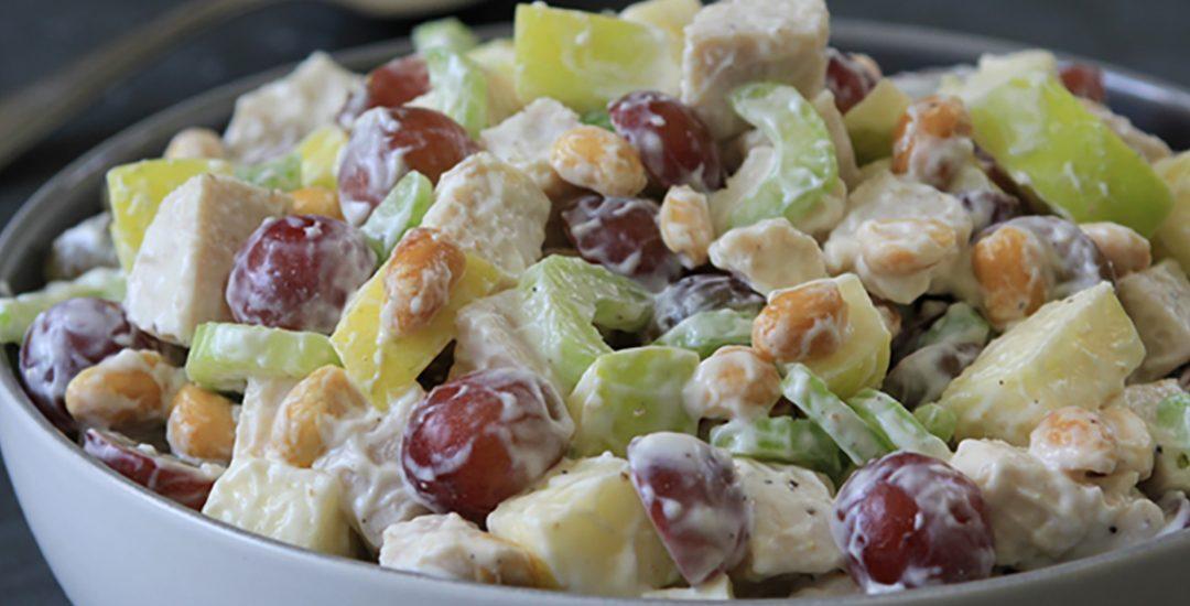 Crunchy Peanut Waldorf Salad