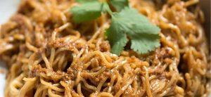 Schezuan Peanut Sauce for Noodles
