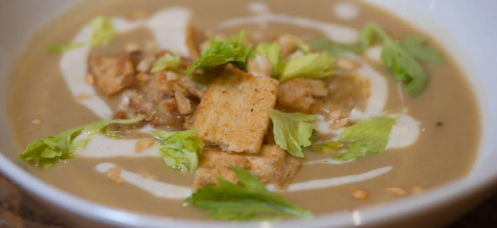 Senegalese Sweet Potato and Peanut Soup