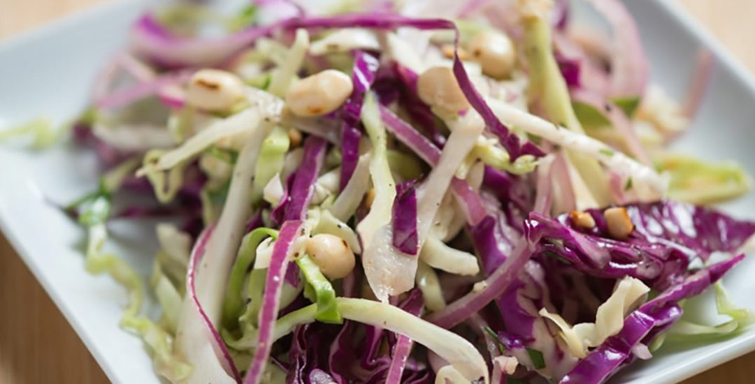 Southern Peanut Coleslaw