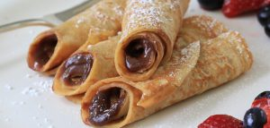 Peanutella Crepes